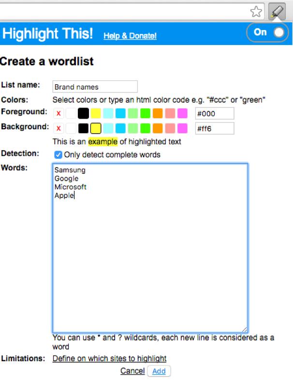 google microsoft words